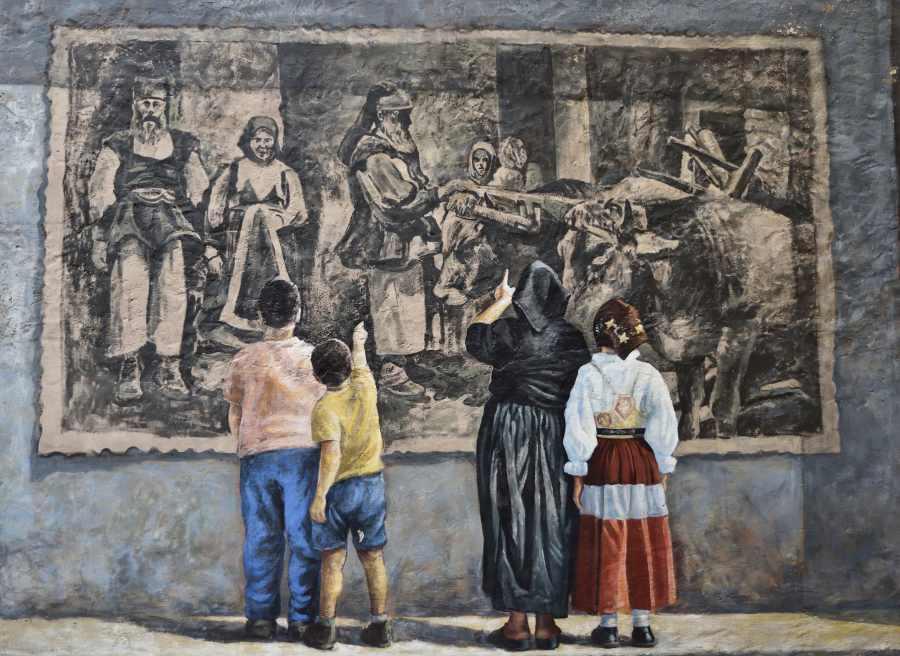 Cortes apertas murales