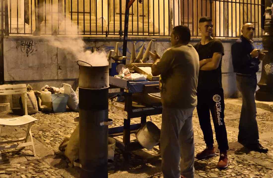 Venditori ambulanti per le Vie dei tesori