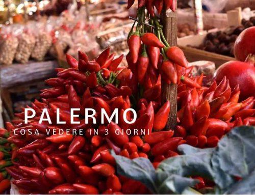 Palermo cosa vedere: itinerario a piedi in 3 giorni