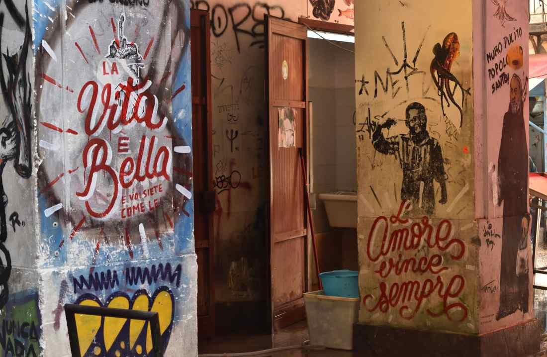 Palermo cosa vedere street art vucciria