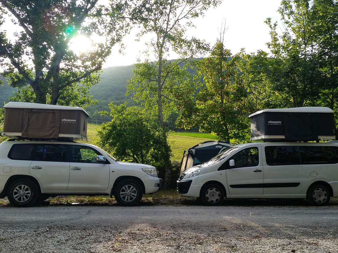 Lago di Fiastra campeggio B-side