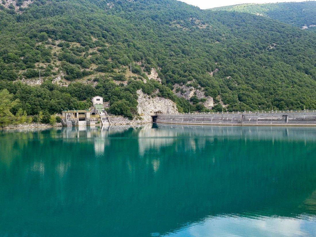 Lago di fiastra lago marche