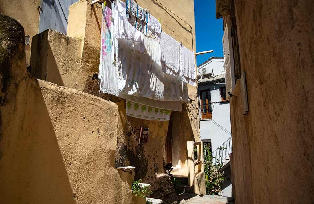 Cap Corse Erbalunga vicoli