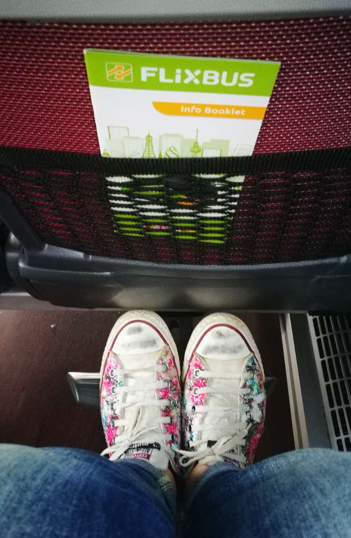 flixbus spazio tra i sedili