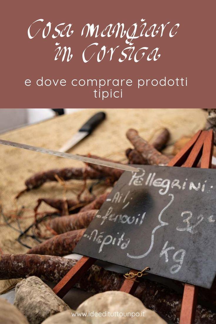 Cosa mangiare in corsica