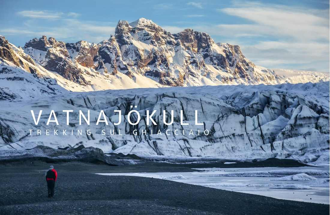 trekking sul ghiacciaio in Islanda