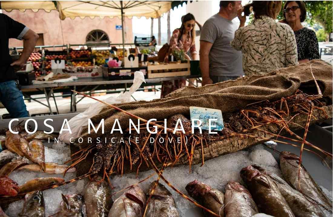 cosa mangiare in Corsica aragosta