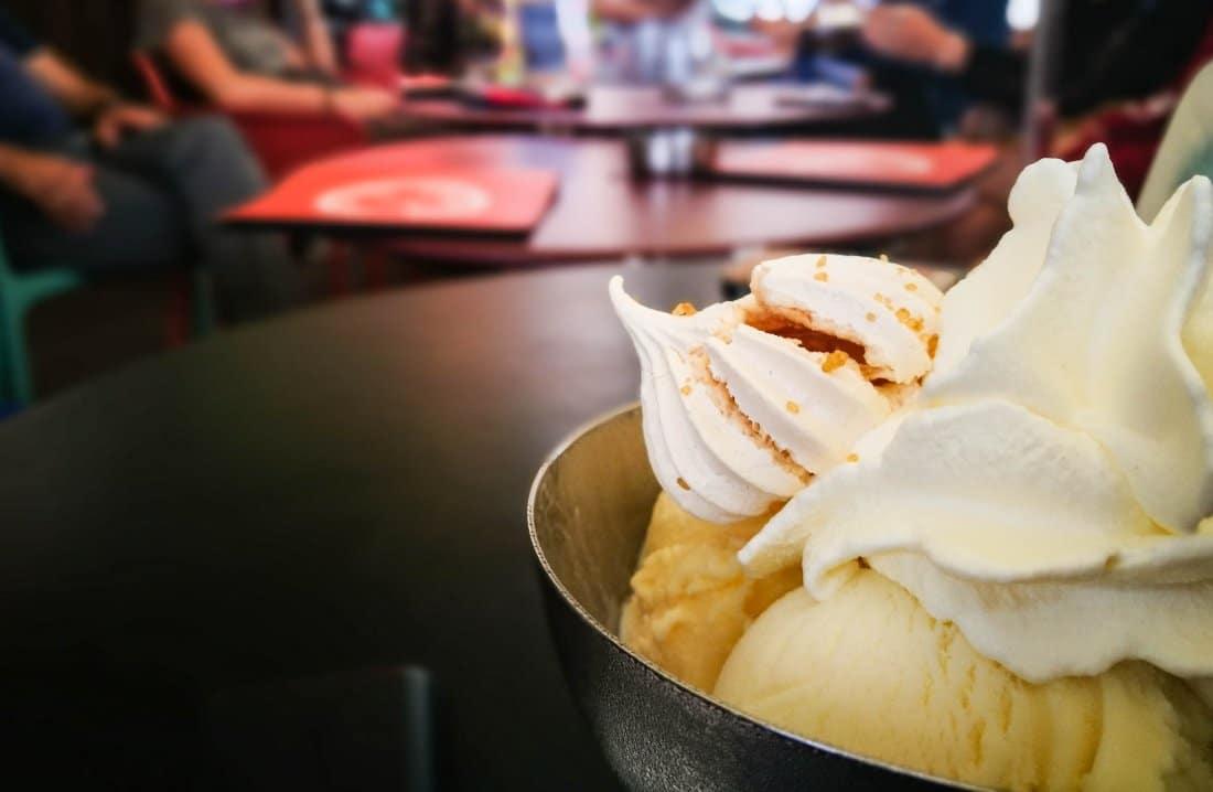 cosa mangiare in corsica gelato