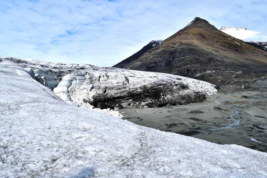 il fronte del Vatnajokull