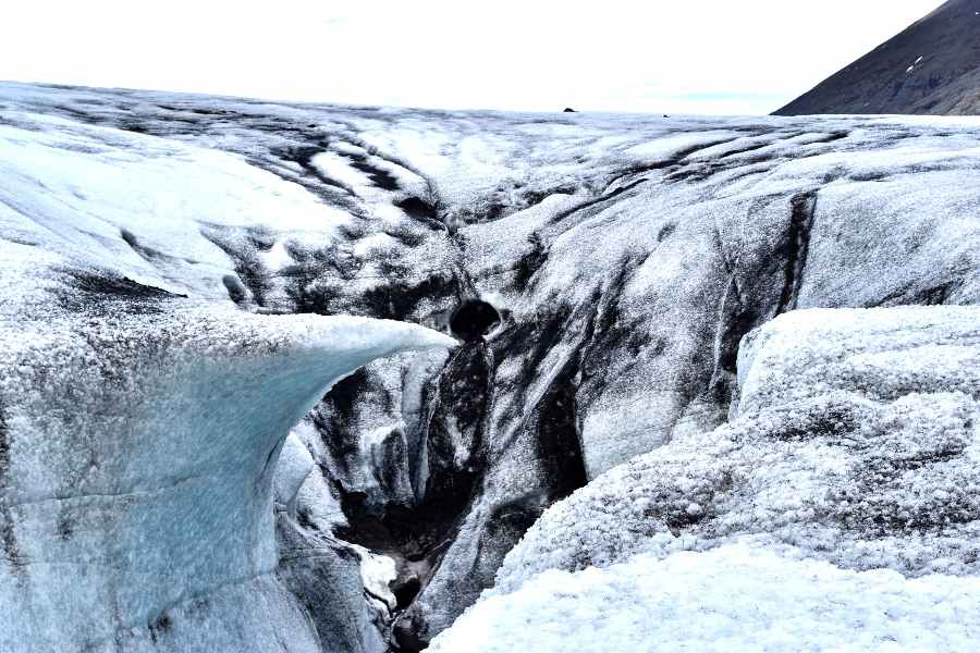 ghiacciaio islanda sulture di ghiaccio