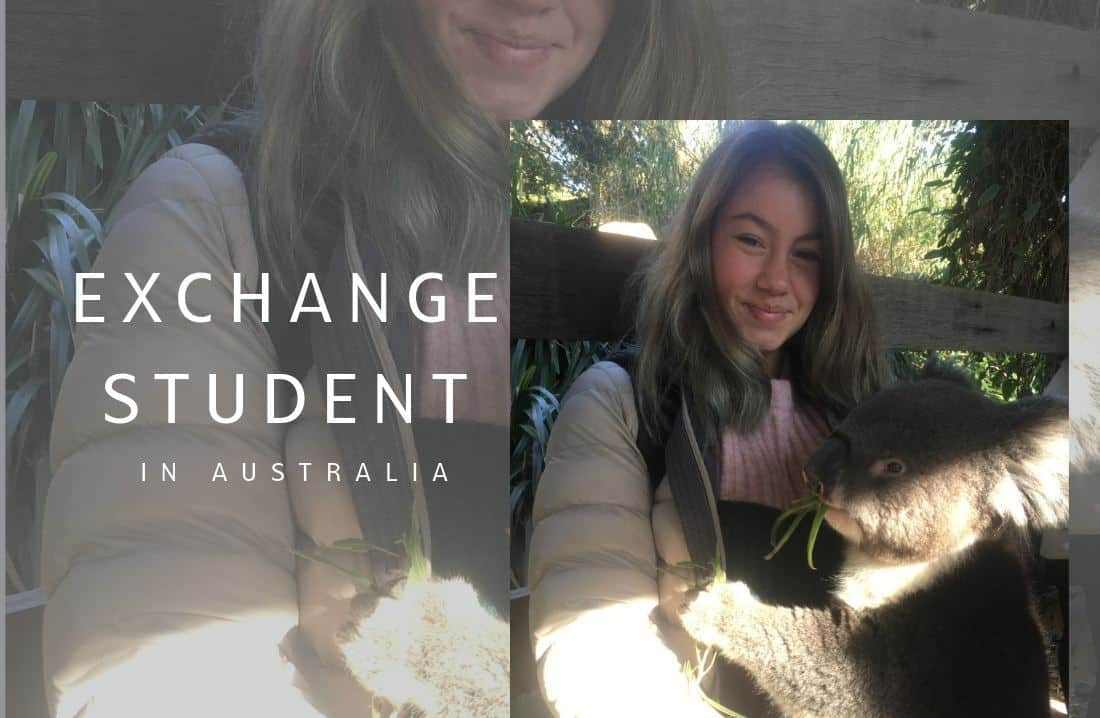 Exchange student in australia