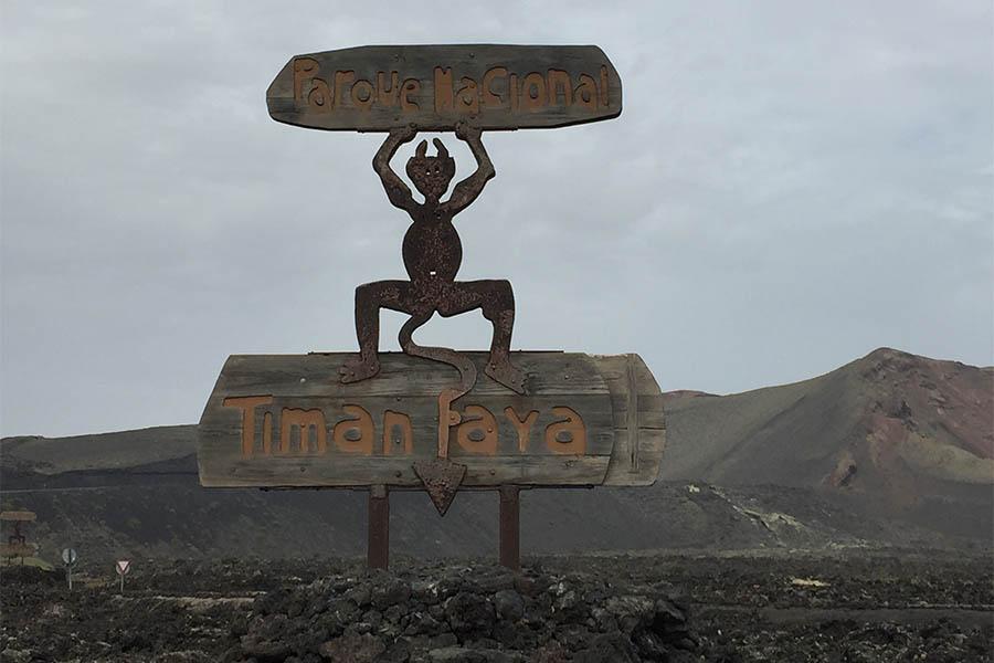 Lanzarote cosa vedere Parco Timanfaya