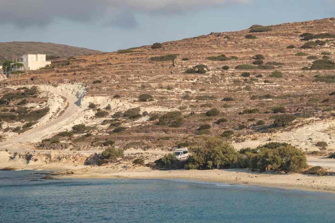isole cicladi in maggiolina