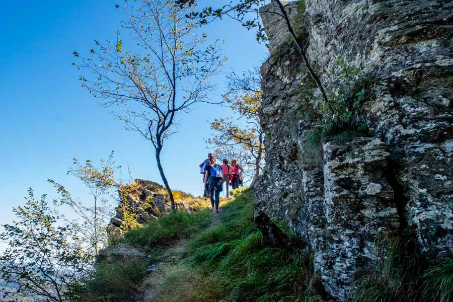 Fondazione Cima trekking alle miniere d'argento