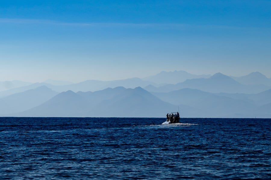Fondazione Cima escursione in mare