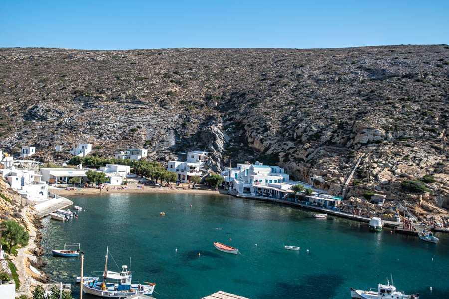 Sifnos Heronissos beach