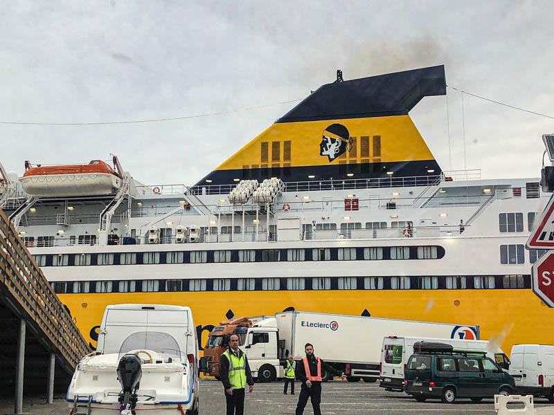 Corsica ferries da Tolone alle Baleari