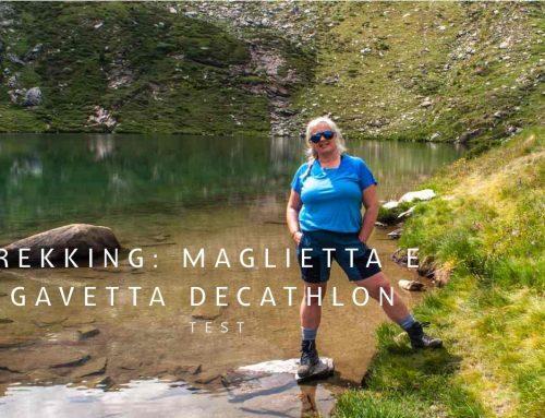 Attrezzatura da trekking: maglietta in lana merinos e gavetta