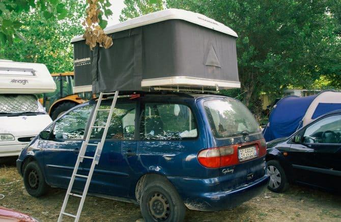 Tenda da auto