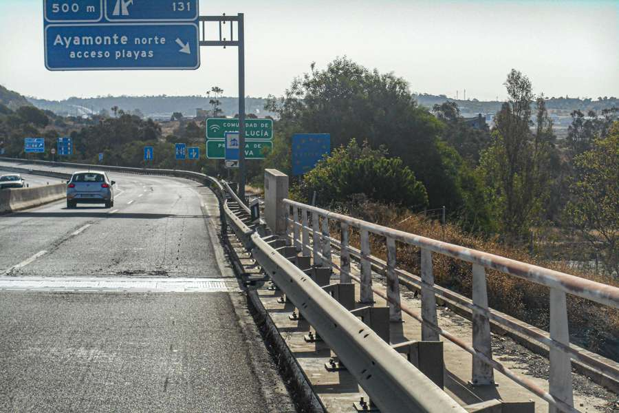 Da Autostrada POrtogallo ad Autostrada Spagnola