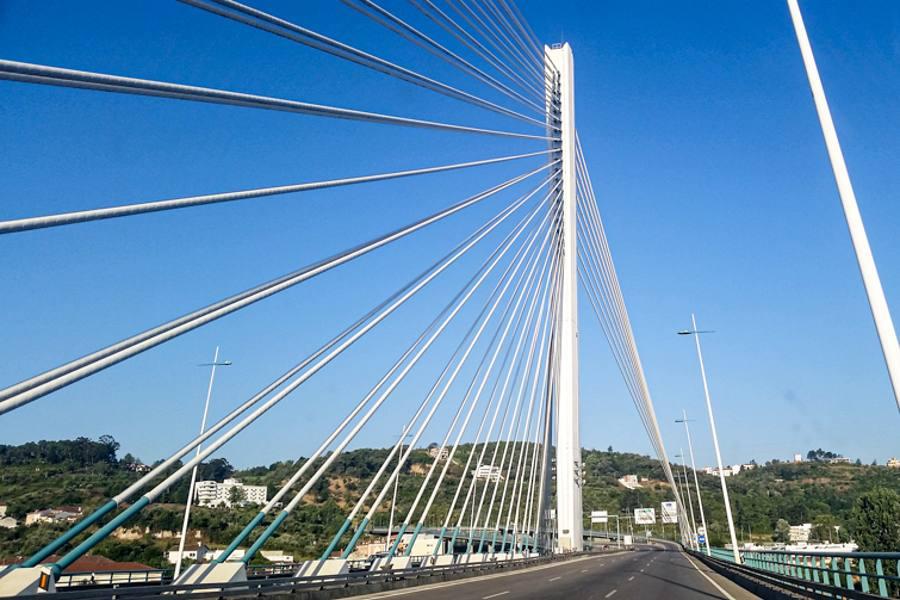 Ponte Vasco de Gama a Lisbona