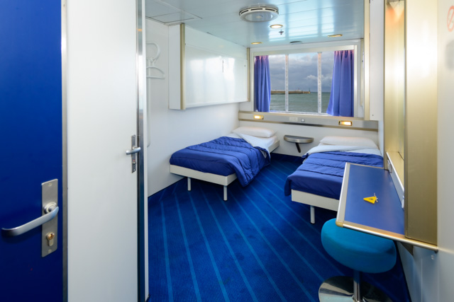 Corsica Ferries cabina