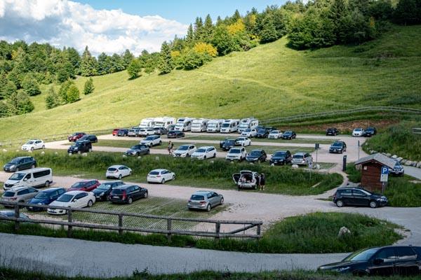 Parcheggio strada delle 52 gallerie